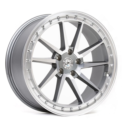 59° North Wheels S-001  8,5x19 5x112 ET38 CB 73,1 Wheel Matte Gunmetal/Matte Polished in the group WHEELS / RIMS / BRANDS / 59° North Wheels at TH Pettersson AB (206-00119855112)