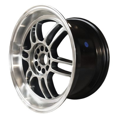 59° North Wheels D-006  8,5x18 5x114/5x120 ET35 CB 73,1 Wheel HyperBlack/Polished Lip in the group WHEELS / RIMS / BRANDS / 59° North Wheels at TH Pettersson AB (206-00618855114120)