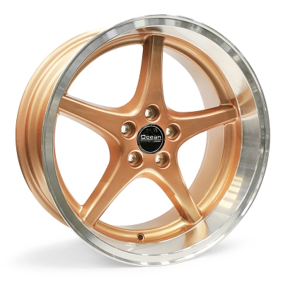 Ocean Wheels MK18 Bronze 8,5x18 5x108 ET6 65,1 in the group WHEELS / RIMS / BRANDS / OCEAN WHEELS at TH Pettersson AB (209-JP6900BRZ)