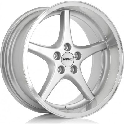 Ocean Wheels MK18 Silver 8,5x18 5x108 ET6 65,1 in the group WHEELS / RIMS / BRANDS / OCEAN WHEELS at TH Pettersson AB (209-JP696001)