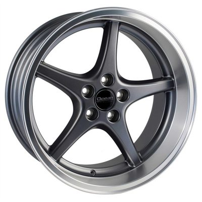 Ocean Wheels MK18 Anthracite 8,5x18 5x108 ET6 65,1 in the group WHEELS / RIMS / BRANDS / OCEAN WHEELS at TH Pettersson AB (209-JP696001AP)