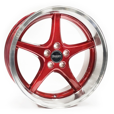 Ocean Wheels MK18 Candy Red 8,5x18 5x108 ET6 65,1 in the group WHEELS / RIMS / BRANDS / OCEAN WHEELS at TH Pettersson AB (209-LP696001RP)