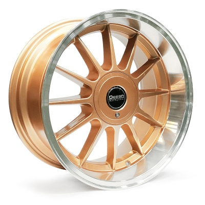 Ocean Wheels Classic Bronze 8,5x17 5x108 ET10 65,1 in the group WHEELS / RIMS / BRANDS / OCEAN WHEELS at TH Pettersson AB (209-OC76BRONZE)