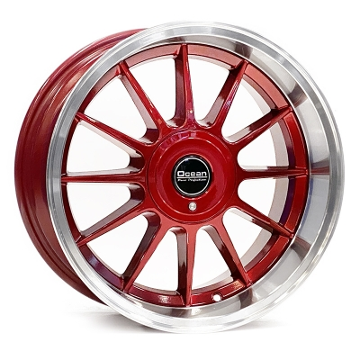 Ocean Wheels Classic Candy Red 8,5x17 5x108 ET10 65,1 in the group WHEELS / RIMS / BRANDS / OCEAN WHEELS at TH Pettersson AB (209-OC76CANDYRED)