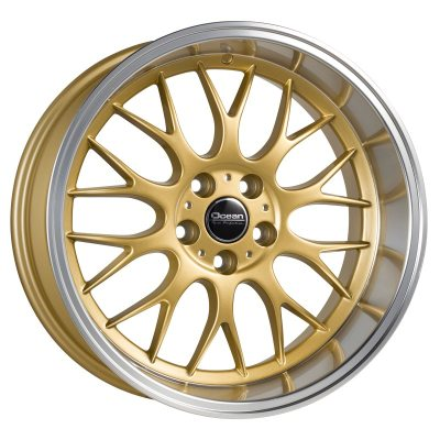 Ocean Wheels Super DTM Gold 8,5x18 5x108 ET6 65,1 in the group WHEELS / RIMS / BRANDS / OCEAN WHEELS at TH Pettersson AB (209-OSD694101GP)