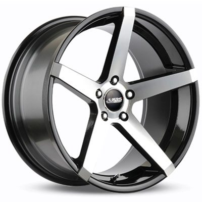 ABS Wheels ABS355 9,5x19 ET 35 Black Polished in the group WHEELS / RIMS / BRANDS / ABS WHEELS at TH Pettersson AB (213-ABS-ABS355-0007)