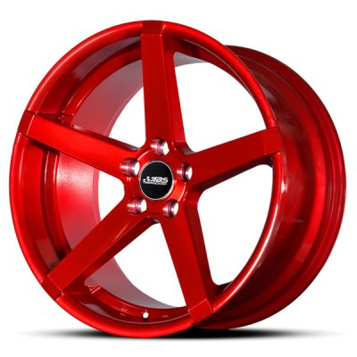 ABS Wheels ABS355 8x18 ET 38 Candy Red in the group WHEELS / RIMS / BRANDS / ABS WHEELS at TH Pettersson AB (213-ABS-ABS355-0016)