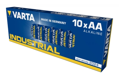 Varta Battery AA/LR6 Industrial in the group BATTERIES / OTHER BATTERIES / AA / AAA / 9V - BATTERIES at TH Pettersson AB (30-VAR LR6 I)