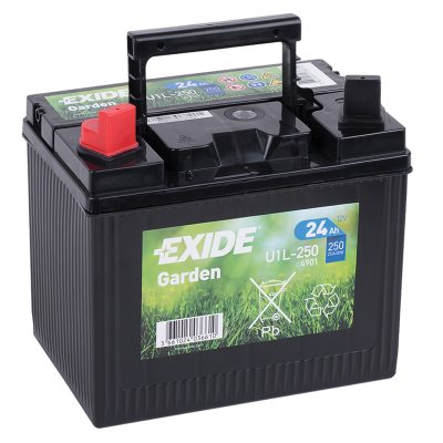 Battery 4901 EXIDE GARDEN U1L-250 24Ah 250A(EN) in the group OTHER BATTERIES / GARDEN BATTERIES at TH Pettersson AB (32-4901)