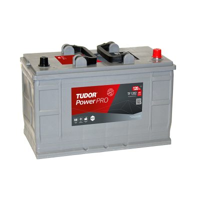 Starting Battery TF1202 TUDOR EXIDE POWERPRO 120Ah 870A(EN) in the group HEAVY VEHICLES / CONTRACT BATTERIES at TH Pettersson AB (32-TF1202)