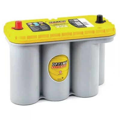 Battery OPTIMA YT S 5,5 Yellow top 8051-187 in the group HEAVY VEHICLES / CONTRACT BATTERIES at TH Pettersson AB (49-YTS5.5)