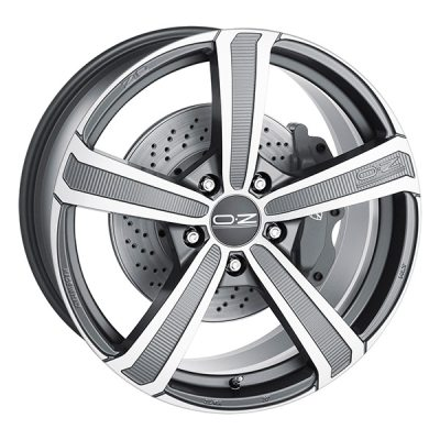 OZ Montecarlo M.Gra 9,5x20 5x130 E52 C71,5 in the group WHEELS / RIMS / BRANDS / OZ RACING at TH Pettersson AB (SPF-32920095500013052715)