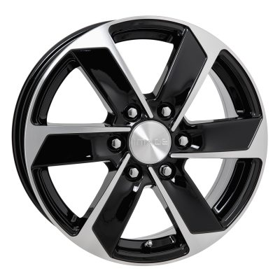 Image Strong G.Blk /Pol 6,5x17 6x130 E54 C84,1 in the group WHEELS / RIMS / BRANDS / IMAGE at TH Pettersson AB (SPF-75417065600013054841)