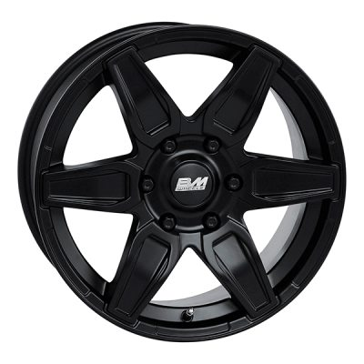BM Macho M.Blk 8x18 5x120 E45 C65,1 in the group WHEELS / RIMS / BRANDS / BM WHEELS at TH Pettersson AB (SPF-94218080500012045651)