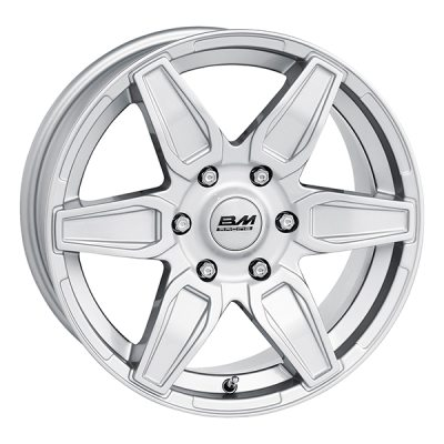 BM Macho 7,5x17 5x120 E45 C65,1 in the group WHEELS / RIMS / BRANDS / BM WHEELS at TH Pettersson AB (SPF-94317075500012045651)