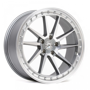 59° North Wheels S-001  9,5x19 5x108 ET40 CB 67,1 Wheel Matte Gunmetal/Matte Polished