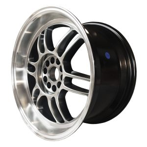 59° North Wheels D-006  10,5x18 5x114/5x120 ET15 CB 73,1 Wheel HyperBlack/Polished Lip