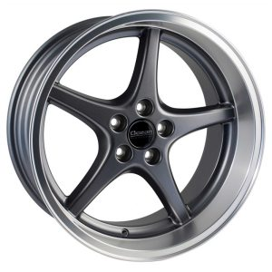 Ocean Wheels MK18 Anthracite 8,5x18 5x108 ET6 65,1