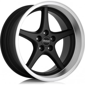 Ocean Wheels MK18 Black 8,5x18 5x108 ET6 65,1