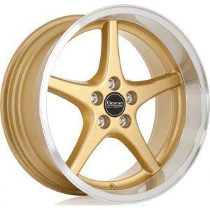 Ocean Wheels MK18 Gold 8,5x18 5x108 ET6 65,1