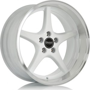 Ocean Wheels MK18 White 8,5x18 5x108 ET6 65,1
