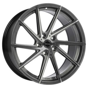 Ocean Wheels OC-01 Black Polished 8,0x18 5x108 ET45 72,6