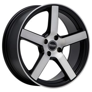 Ocean Wheels Cruise Black Polished 8,0x18 5x108 ET45 72,6