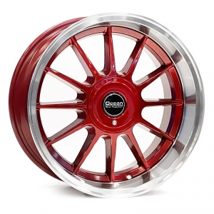 Ocean Wheels Classic Candy Red 8,5x17 5x108 ET10 65,1