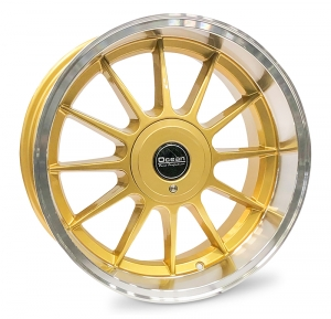 Ocean Wheels Classic Gold 8,5x17 5x108 ET10 65,1