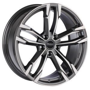 Ocean Wheels F5 Antracit Polished 8,5x19 5x120 ET34 72,6