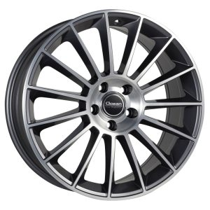 Ocean Wheels Pontos Antracit Polished 9,5x19 5x112 ET50 66,6