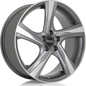 Ocean Wheels Storm Antracit Polished 8,0x19 5x108 ET50 67,1