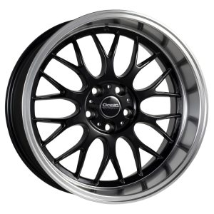 Ocean Wheels Super DTM Black Polished 8,5x18 5x108 ET6 65,1
