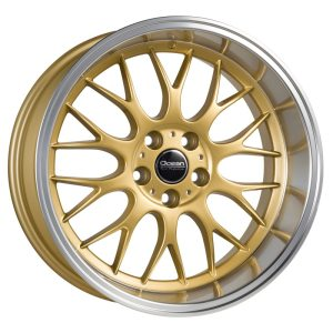 Ocean Wheels Super DTM Gold 8,5x18 5x108 ET6 65,1