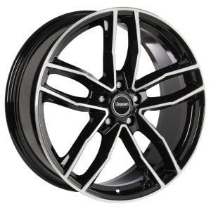 Ocean Wheels Trend Black Polished 8,0x18 5x112 ET45 66,5