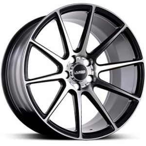 ABS Wheels ABS335 10x20 ET 40 Black Polished