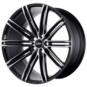 ABS Wheels ABS344 10,5x20 ET 40 Black Polished