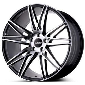 ABS Wheels F12 10x20 ET 40 Black Polished