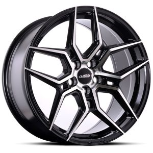 ABS Wheels F27 9,5x19 ET 40 Black Polished