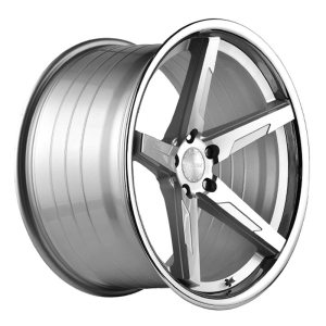 ABS Wheels F55 9,5x19 ET35 Silver / SS Lip