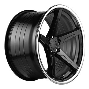 ABS Wheels F55 10x20 ET35 Black / Silver Lip