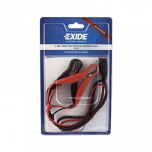 Charging Cable EXIDE / TUDOR with clamps and temperature sensor 0,5m