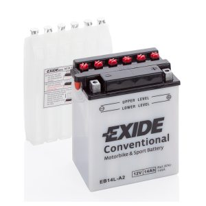 Motorcycle battery 4529 EXIDE MC EB14L-A2 14Ah 145A(EN)