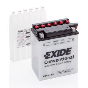 Motorcycle battery 4567 EXIDE MC EB14L-B2 14Ah 145A(EN)