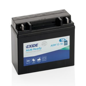 Motorcycle battery 4584 EXIDE MC AGM12-18 18Ah 250A(EN)