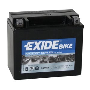 Motorcycle battery 4916 EXIDE MC AGM12-10 10Ah 150A(EN)