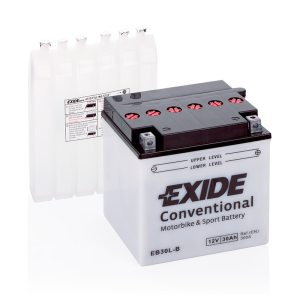 Motorcycle battery 4987 EXIDE MC EB30L-B 30Ah 300A(EN)