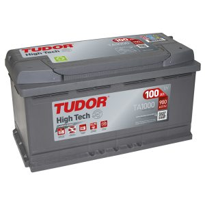 Starting Battery TA1000 TUDOR EXIDE HIGH-TECH 100Ah 900A(EN)