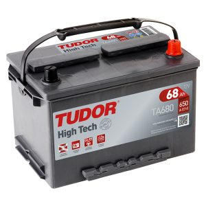 Starting Battery TA680 TUDOR EXIDE HIGH-TECH 68Ah 650A(EN)
