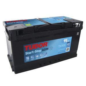 Starting Battery TK950 TUDOR EXIDE START-STOP AGM 95Ah 850A(EN)